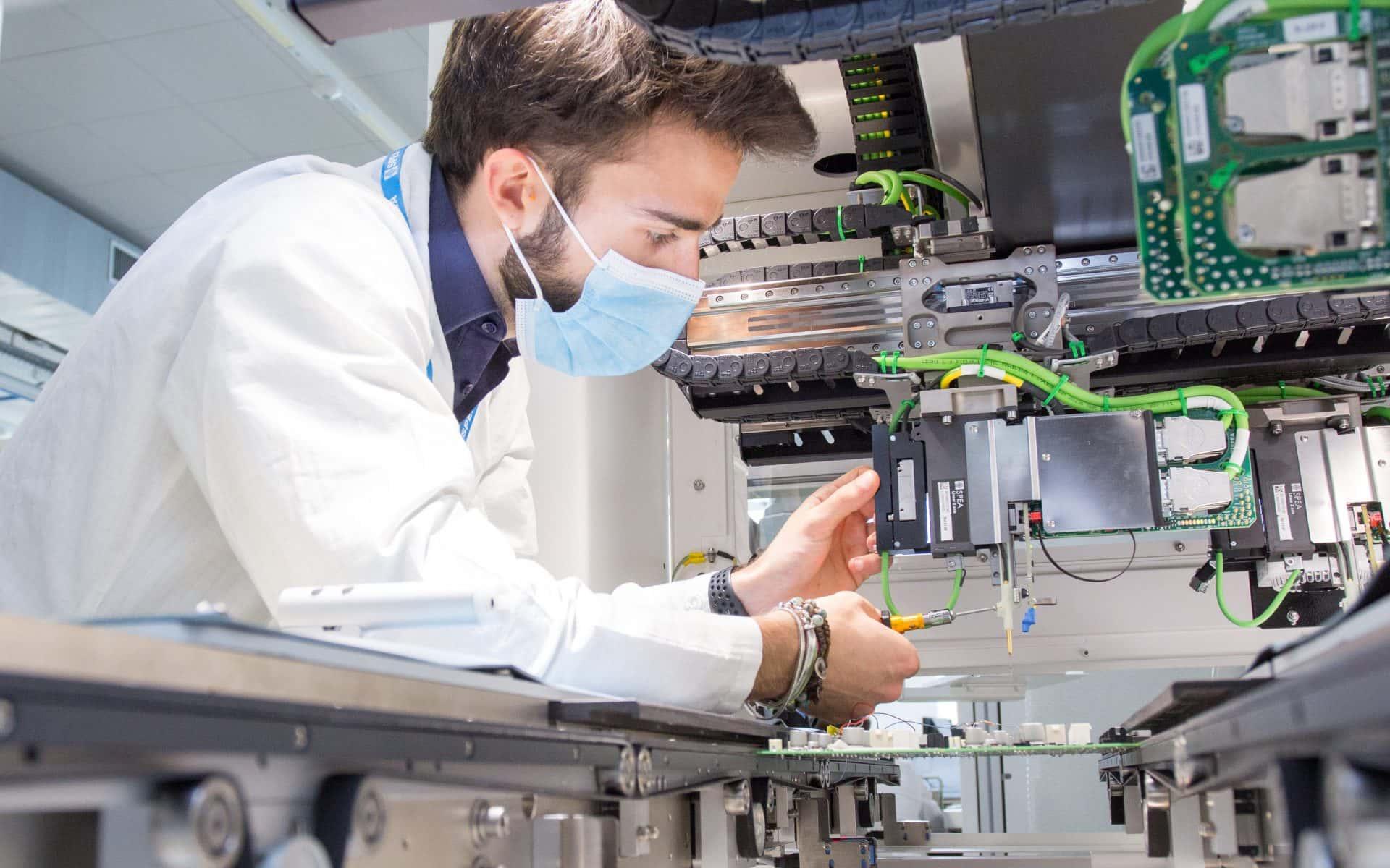 SPEA Automatic Test Equipment - engineer