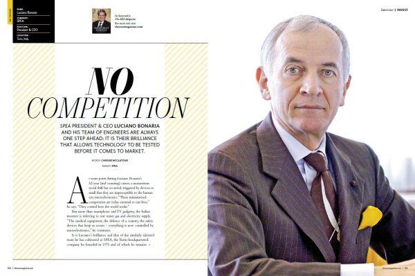 SPEA - Luciano Bonaria - CEO Magazine - Interview