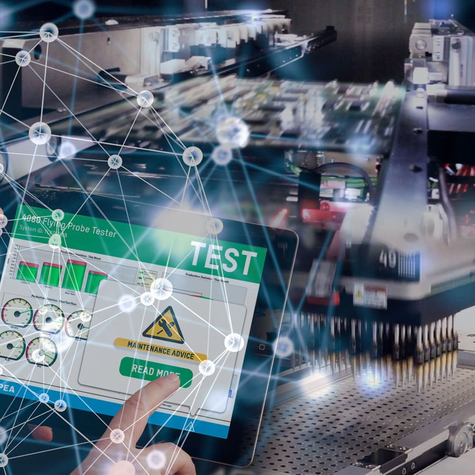 Industry 4.0 - Testing equipment